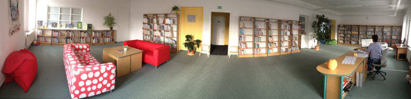 Výběrové řízení na pozici knihovník/knihovnice