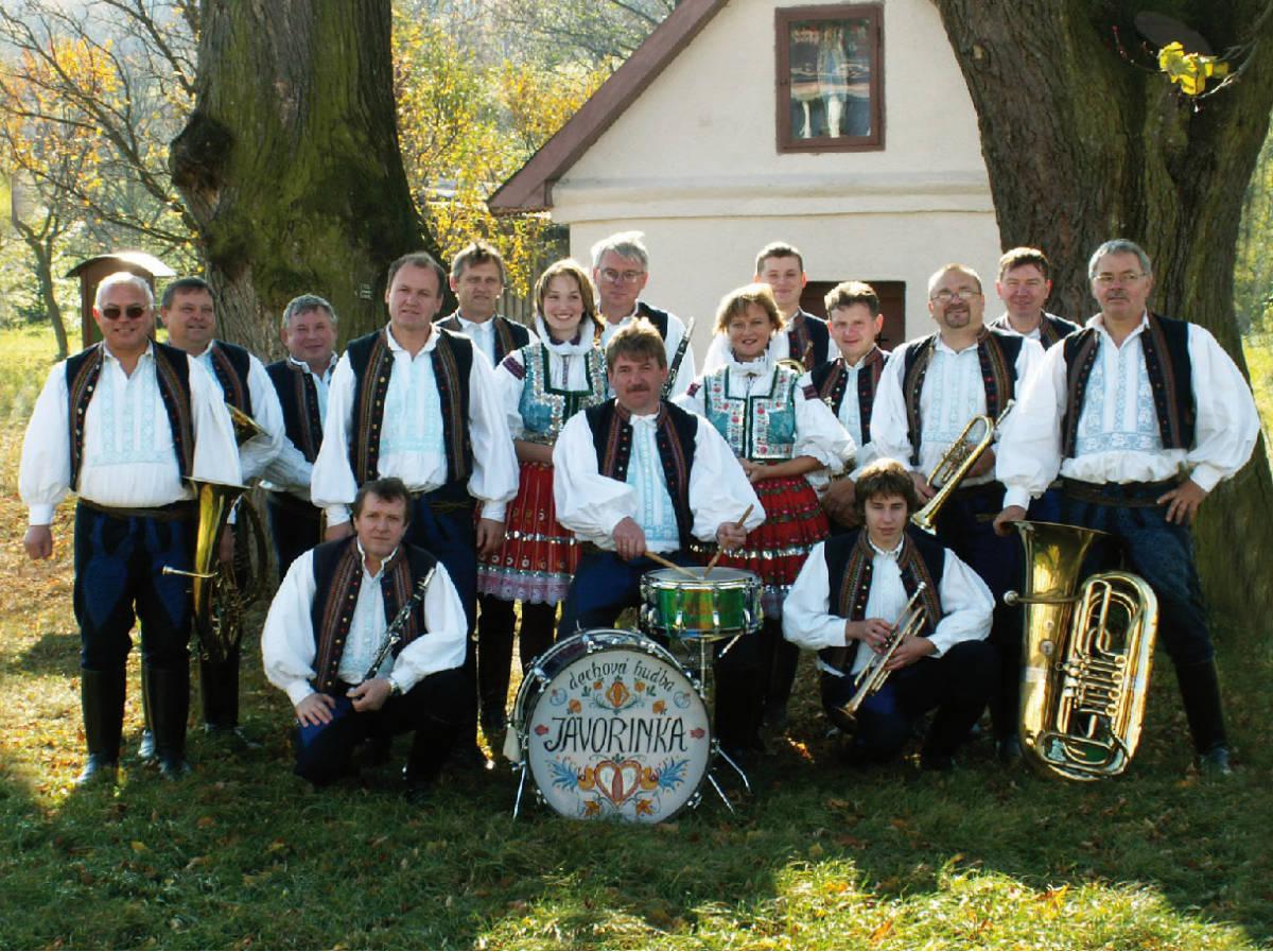 Dechový orchestr JAVORINKA ze Strání