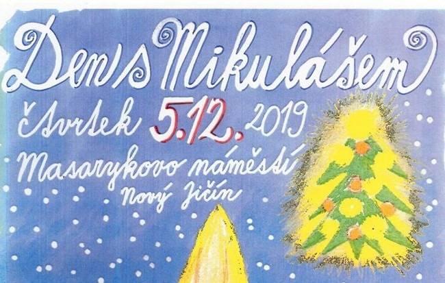 Den sMikulášem a slavnostní rozsvícení vánočního stromu
