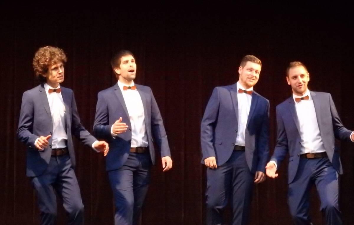 NoTimers – vokální barbershopový kvartet
