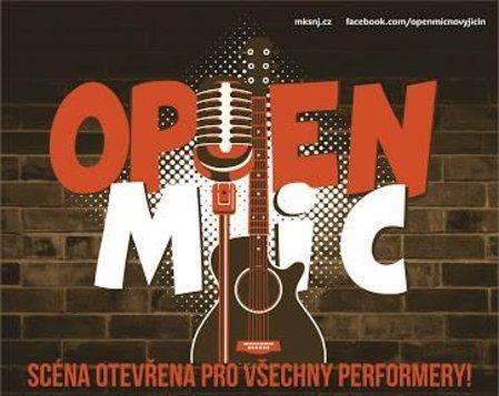 Open Mic – venku!