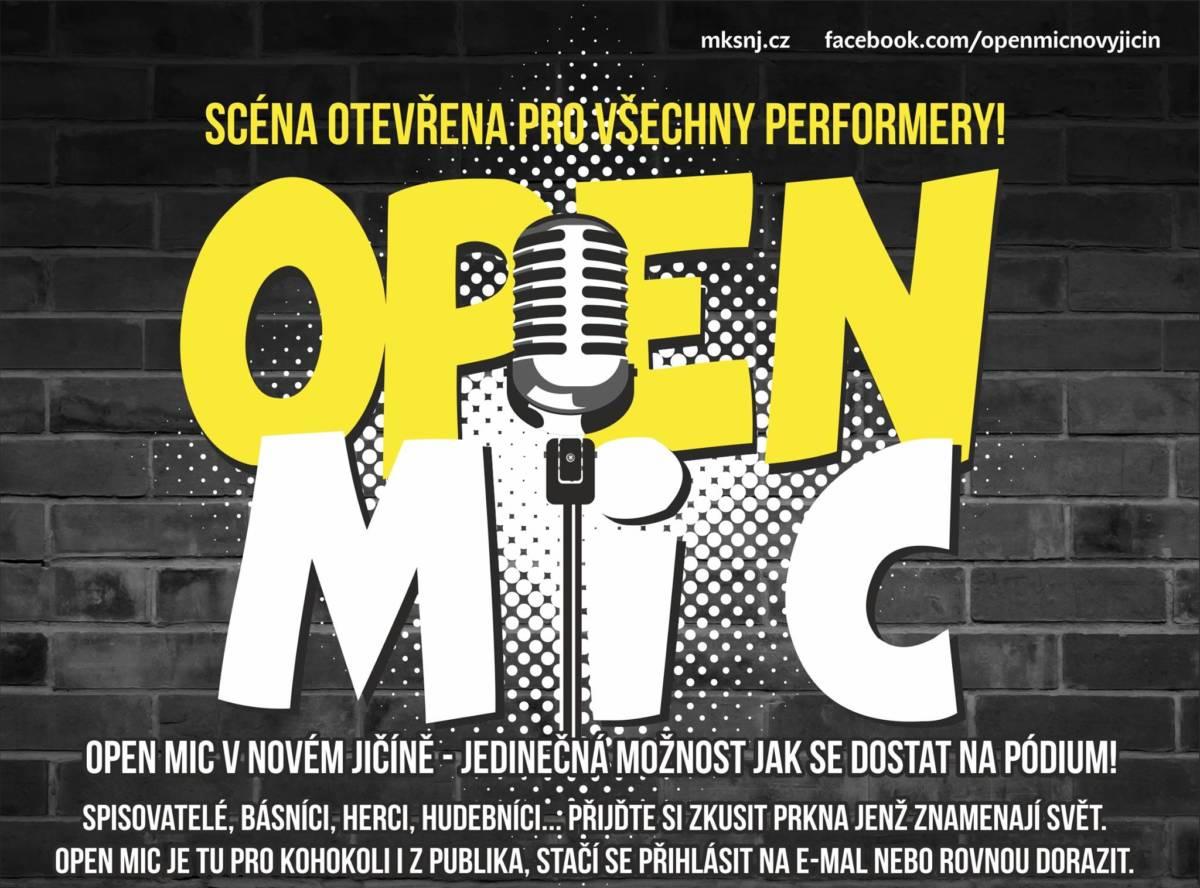 Open mic 05/20-zrušeno