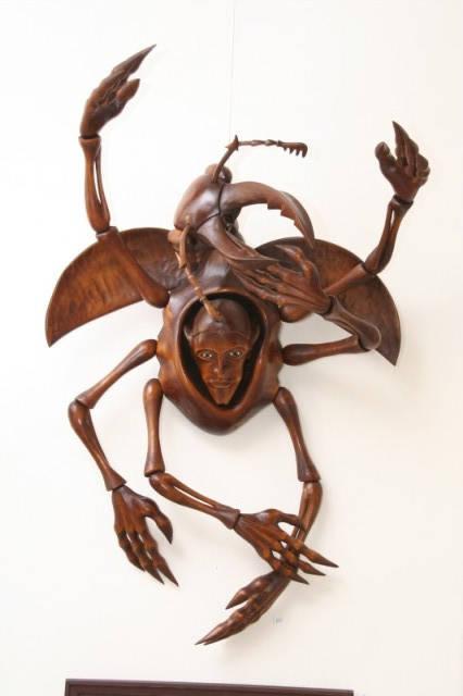 Vernisáž výstavy: Dřevěné sochy