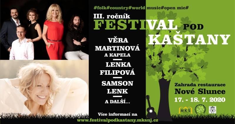 Festival pod kaštany-pátek