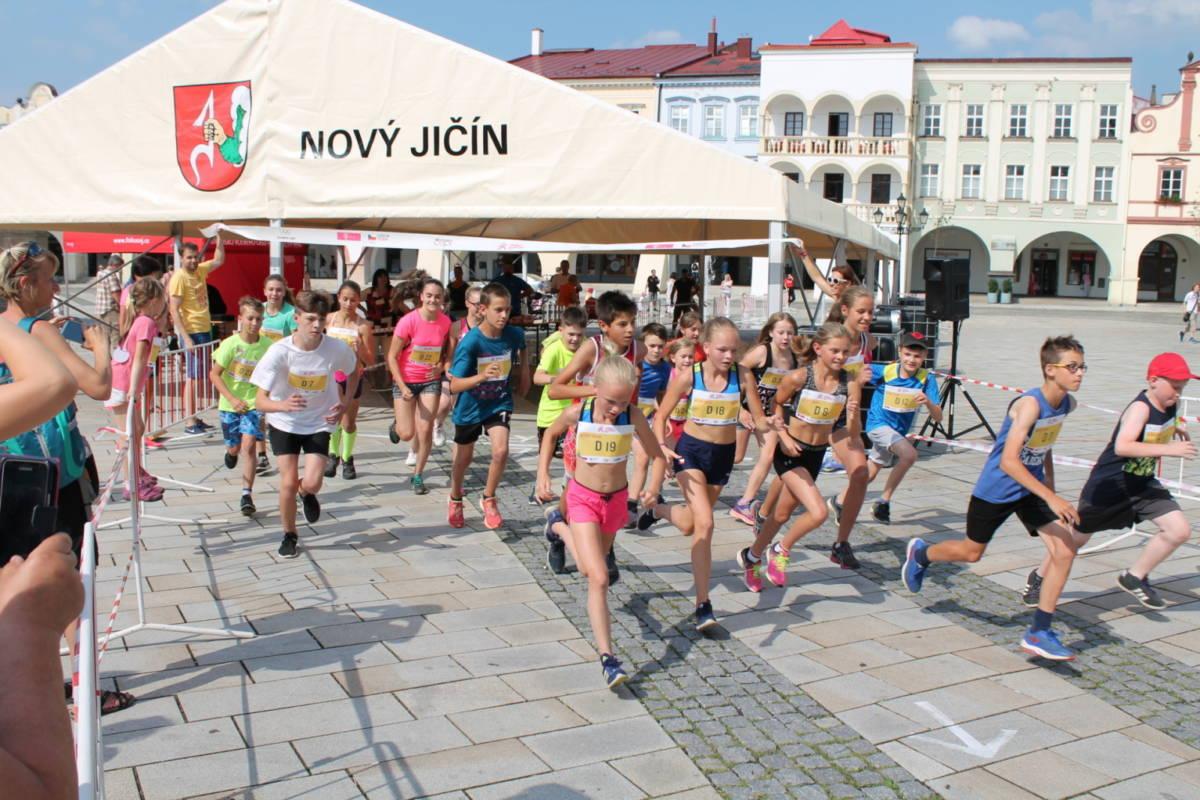 Dětský T-Mobile olympijský běh Nový Jičín