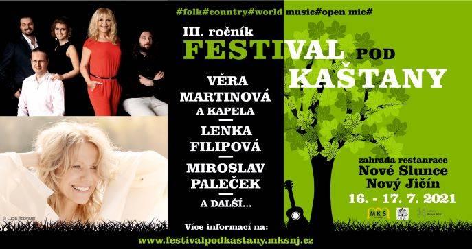 Festival pod kaštany 2021