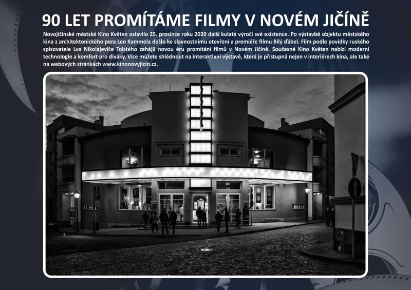 90.let promítáme filmy vNovém Jičíně