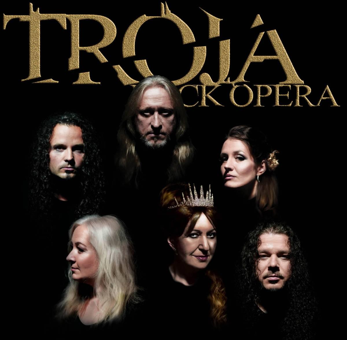 RockOpera Praha – rocková opera Trója